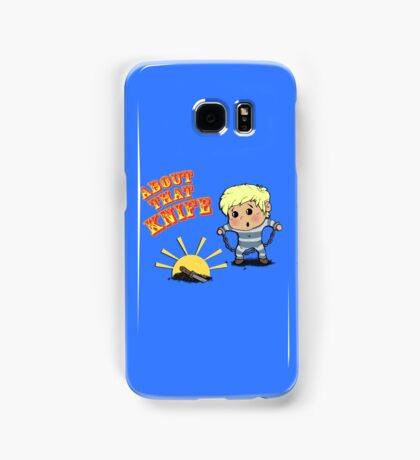 I'M ABOUT THAT KNIFE! Samsung Galaxy Case/Skin