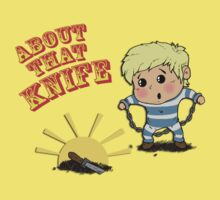 I'M ABOUT THAT KNIFE! Kids Clothes