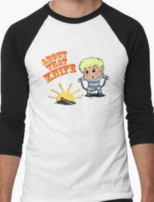 I'M ABOUT THAT KNIFE! Men's Baseball ¾ T-Shirt