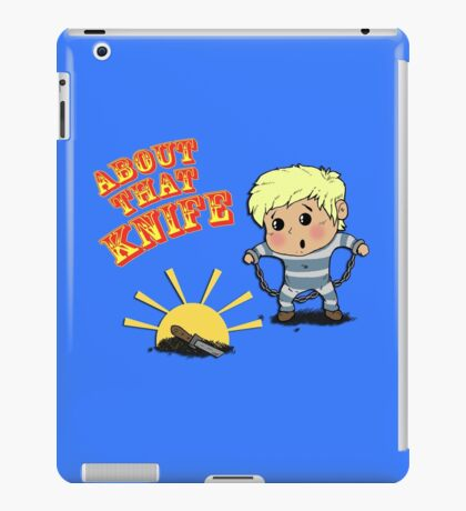 I'M ABOUT THAT KNIFE! iPad Case/Skin