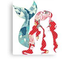 Floral Ariel Canvas Print