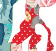 Floral Ariel Sticker