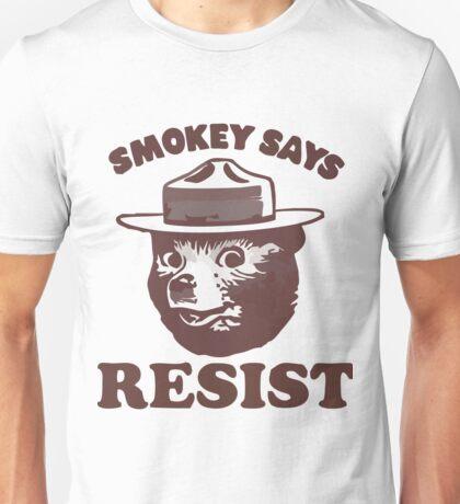 smokey the bear Unisex T-Shirt