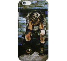 Forecast - Sad Boy Portrait iPhone Case/Skin