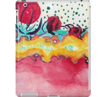 Caterpillar, abstract ink painting. iPad Case/Skin