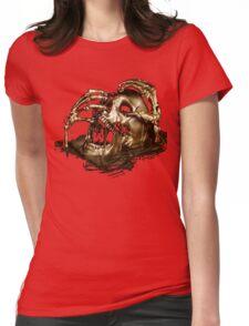 Black Sails Golden Skull Womens Fitted T-Shirt