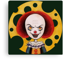Pennywise Cheese Canvas Print