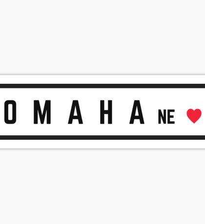 Omaha Nebraska #2 Sticker