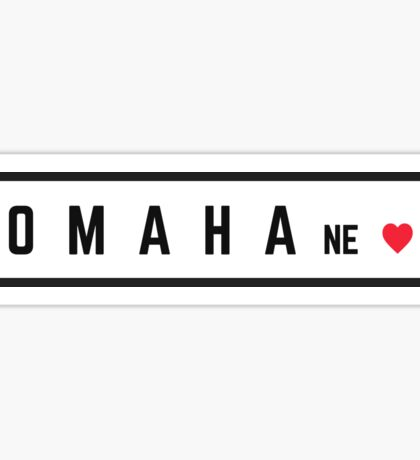Omaha Nebraska #2 Sticker