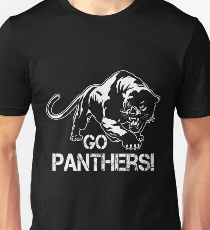 Go Panthers Sports Teams Games Unisex T-Shirt