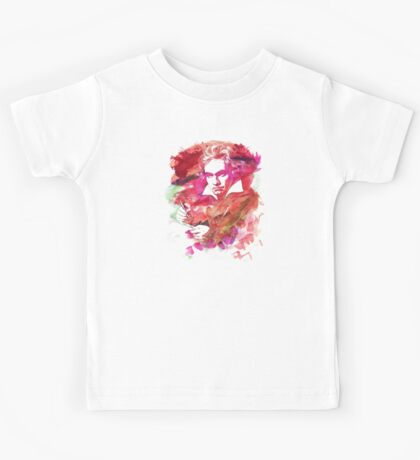 Ludwig van Beethoven Watercolor Remix  Kids Clothes