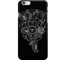 fallout new vegas flash (white variant) iPhone Case/Skin