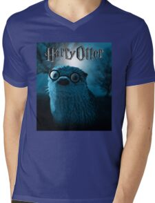 Harry Otter Mens V-Neck T-Shirt
