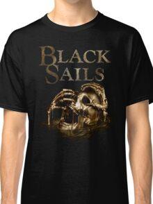 Black Sails Golden Skull Logo Classic T-Shirt