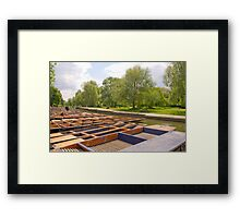 Cambridge, Late Spring 57 Framed Print