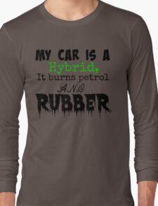 Sure it's a Hybrid. Long Sleeve T-Shirt