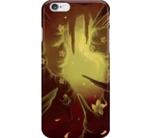 Flowers and Embers iPhone Case/Skin
