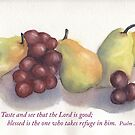 Refuge and Hope- Psalm 34:8 by Diane Hall