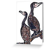 The Cormorants Greeting Card