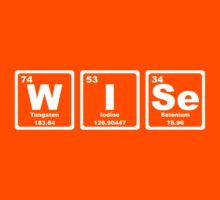 Wise - Periodic Table Kids Clothes