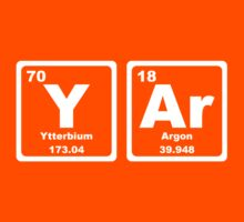 Yar - Periodic Table Kids Clothes