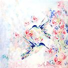 Hummingbirds by Robin Monroe