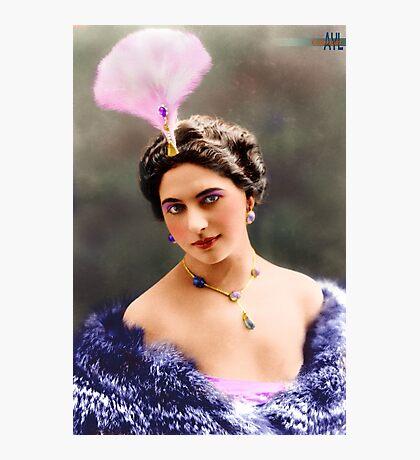 The Real Mata Hari Colorized Photographic Print