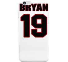 NFL Player Bryan Anger nineteen 19 iPhone Case/Skin