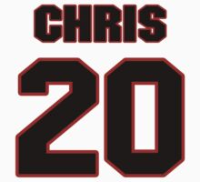 NFL Player Chris Davis twenty 20 by imsport