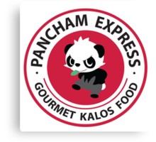 Pancham Express Canvas Print