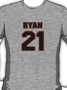 NFL Player Ryan Mundy twentyone 21 T-Shirt