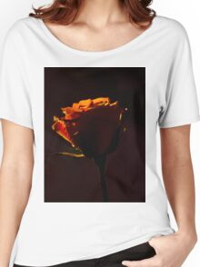Rose in the dark  Women's Relaxed Fit T-Shirt