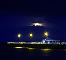 Goodnight Sweet Pier by Silken Photography