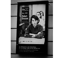 Art exhibition poster in Vienna Photographic Print