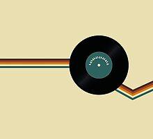 Retro Vinyl by Zack Kalimero