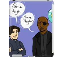 Motivational Fury and Hill iPad Case/Skin