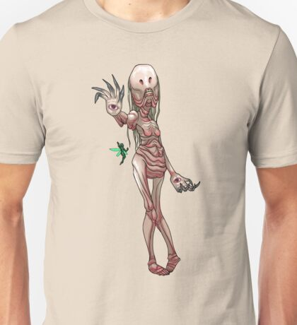 The Pale Woman MONSTER GIRLS Series I Unisex T-Shirt