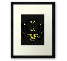 【1700+ views】Pokemon Giratina Dark version Framed Print