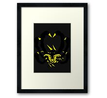 【1700+ views】Pokemon Giratina Dark version Framed Print
