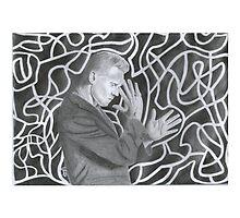 Tom Hiddleston - Graphite Drawing by artoftato