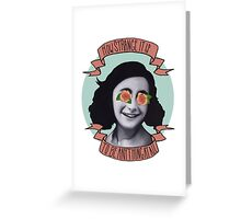 Communist Daughter Greeting Card