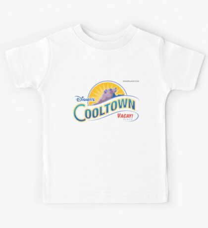 Disner's Cooltown Vacay! Place Things! Kids Tee