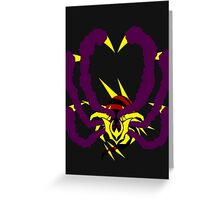 【3300+ views】Pokemon Giratina Color version Greeting Card