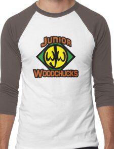 Junior Woodchucks Men's Baseball ¾ T-Shirt