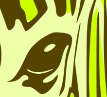 Wildlife Zebra Sticker