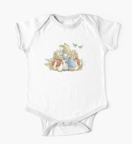 Beatrix Potter- Lets have a Cuddle! One Piece - Short Sleeve