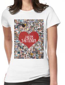 I love Jacob Sartorius Womens Fitted T-Shirt