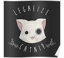 Legalize Catnip Poster