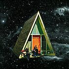 A house in space by beatrizmeneses