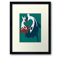 【1800+ views】Pokemon Latios & Latias Framed Print